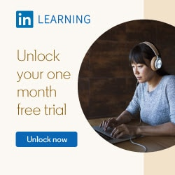 LinkedIn Learning Affiliate Banner
