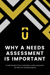 Why a needs assessment is important