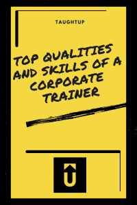 Top Qualities and Skills of a Corporate Trainer Pinterest Pin