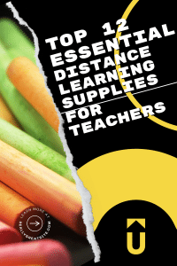 Top 12 Essential Diistance learning supplies for teachers